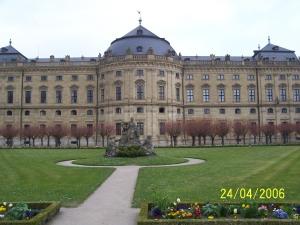 Die Residenz in Würzburg
