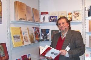 Author Carl Gibson, Frankfurt International Book Fair, 2008