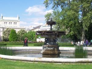 Am Hofgarten in Wien
