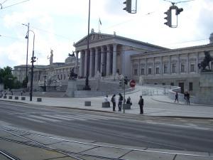 Das Parlament am Ring, Wien