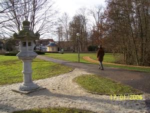 Japanische Stele in Bad Mergentheim, Deutschland