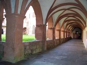 Kreuzgang Kloster Bronnbach im Taubertal