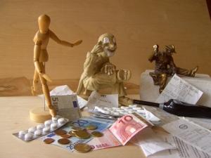 Collage Geld und Alltag Monika Nickel