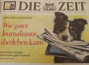 DIE ZEIT aus Hamburg - Welch ein Vorbild!?