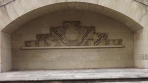Rest der 1944 zerstörten Carlsschule