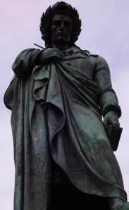 Friedrich Schiller Denkmal, Detail