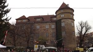 Altes Schloss mit Flohmarkt