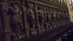 Die schwäbischen Terracotta-Krieger? (Stiftskirche Innen)