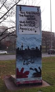 Berliner Mauer, Rest,  in Stuttgart