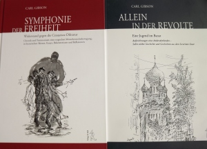 carl Gibson, Symphonie der Freiheit und Allein in der Revolte, Titelbilder