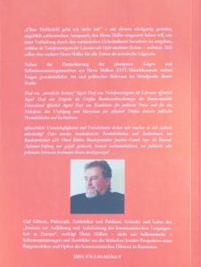 Carl Gibson:  Ohne Haftbefehl gehe ich nicht mit - Herta Müllers erlogenes Securitate-Folter-Martyrium, 2014