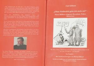 DSC07407 (1) Carl Gibson, Neues  Buch. Herta Müller-Kritik